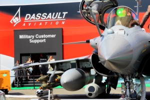 Dassault Rafale at the Paris Air Show