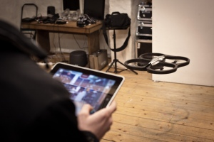 Drone quadcopter operated with iPad by Ville Hyvönen